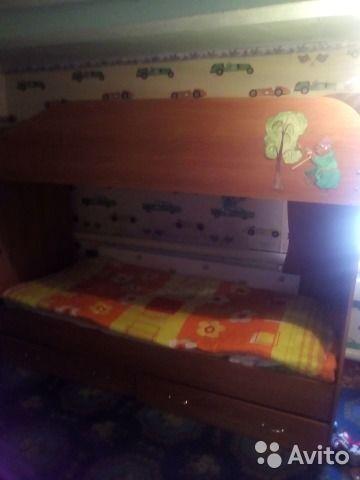 Срочно продам двухъярусную кровать