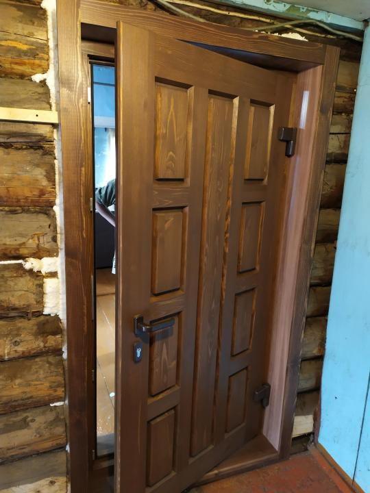Изготовление входных утепленных дверей